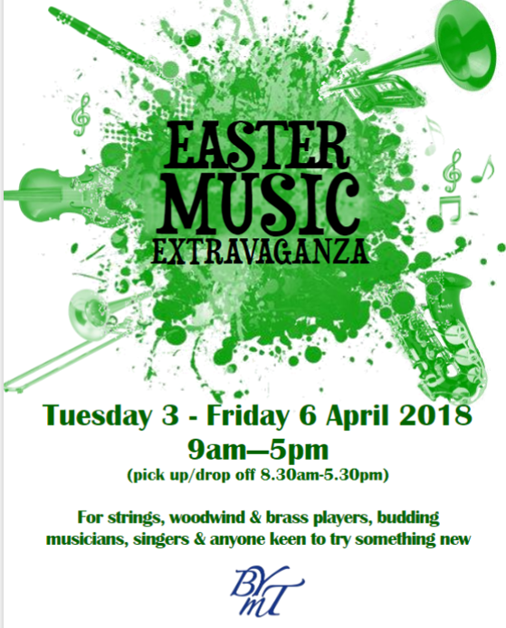 BYMT easter music course