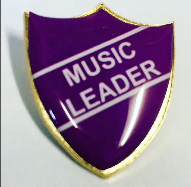 music leader badge