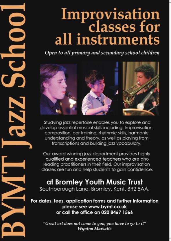 BYMT jazz school