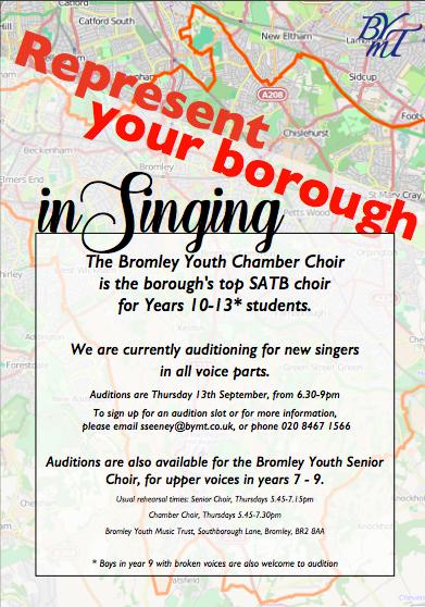 Chamber Choir poster