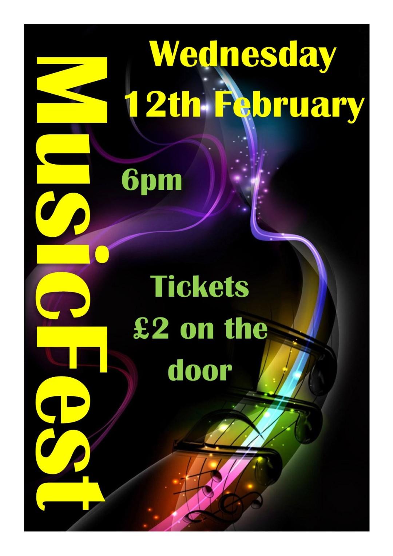 Musicfest Feb 20 poster