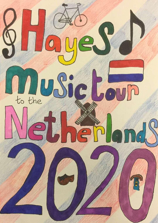 Ophelia's tour poster